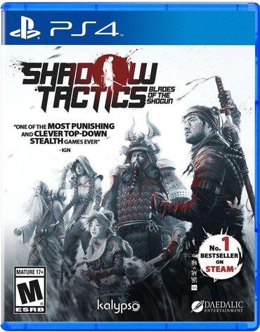 Shadow tactics Ps4. Sony PlayStation 4 oyunlarının və aksesuarlarinin