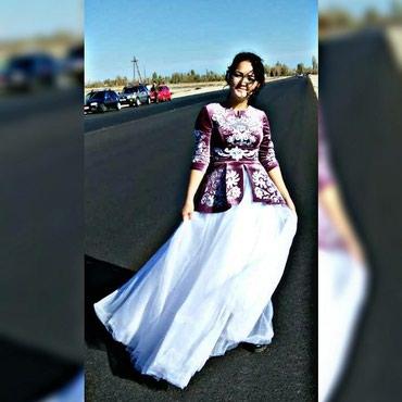 Продаю платье  одивалана Кыз узатуу один раз размер 44 в Чаек
