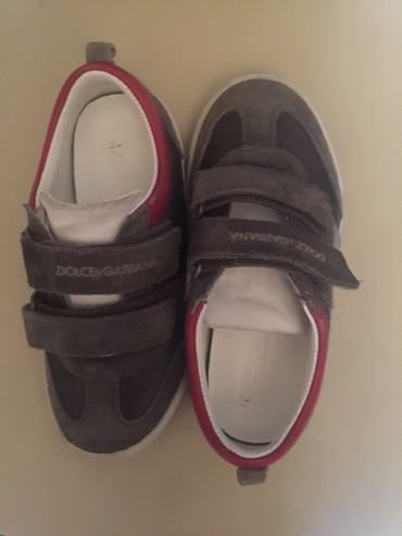 детские кроссовки сороконожки в Азербайджан: DOLCE and GABANNA кроссовки для мальчика 28 размер
