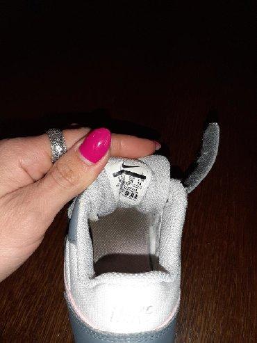 Nike patike za devojcice,dete nosilo 5 meseci male joj. broj 24 - Valjevo