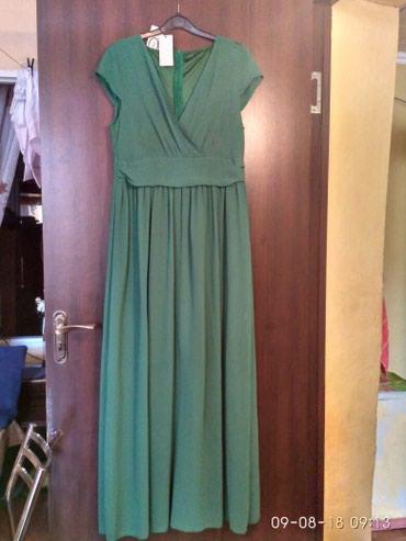 длинные платья в пол зеленого цвета в Кыргызстан: Продаю новое платье в пол цвет очень красивый хорошо подчеркивает