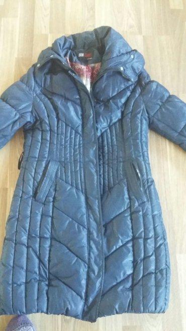 куртка женская зимняя приталенная,длина до колен,размер 48-50 в Бишкек