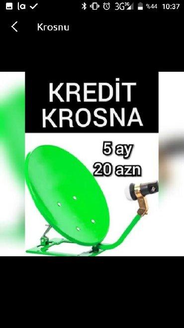 Səsgücləndirici və qəbuledicilər Azərbaycanda: Krosna kredit antena