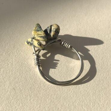 Продаю кольцо ручной работы Цена: 200 сом Размер 19 делаю кольца на за