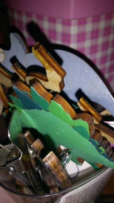 Деревянные броши, ручной работы. Можно на заказ. Цена от 100 сомов в Бишкек