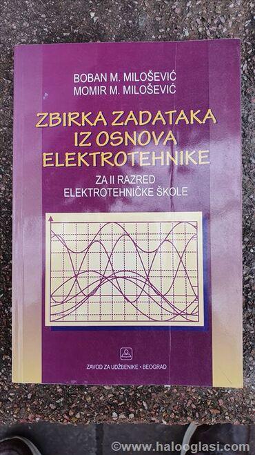 Knjige, časopisi, CD i DVD | Subotica: Zbirka zadataka iz Osnova elektrotehnikeIzdavacka kuca: Zavod za