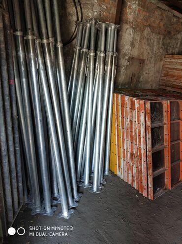 стойки для тельфера в Кыргызстан: Монолитные стойки в арендуСтойкаТелескопТелескопическая
