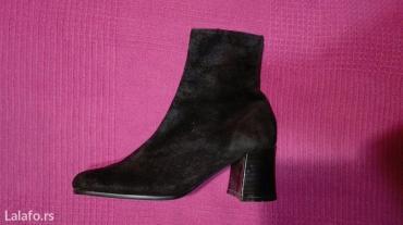 Crne kozne cizme,elegantne i veoma udobne... Broj cizama je 36, - Nis