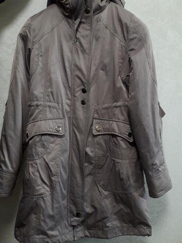 Женская зимняя куртка, носили 2-3 раза. Ткань хорошая, тёплая, внутри