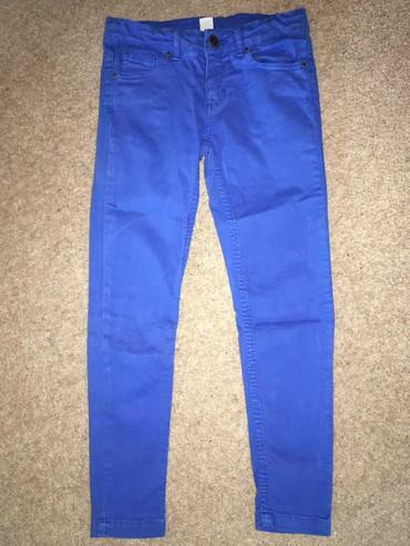 Zara 100% хлопок джинсы на девочку, состояние отличное, размер: 5-6лет