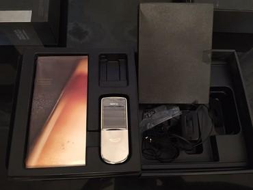 nokia-8 в Азербайджан: 8800 silver edition telefon tam ishlekdi orijinaldi prablemsiz ve