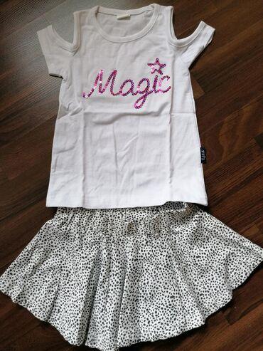 Nova suknjica i majica za devojčicu, veličina 104-4