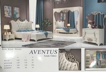 aventus baku - Azərbaycan: Yataq Desti Aventus Fabrik İstehsalı + Matrası + Çatdırılma Quraşdırma