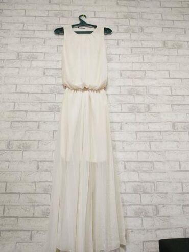 платье в пол лето в Кыргызстан: Продаю платья,в идеальном состоянии!4)Платье лодочка,размер M,брала за