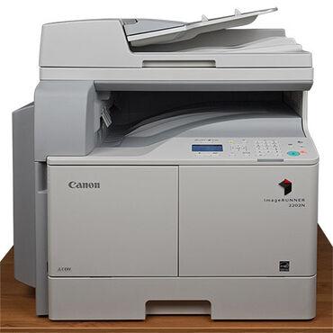 cvetnoj printer tri v odnom в Кыргызстан: Продаётся МФУ Canon IR2202, практически не пользовались,стоял в офисе