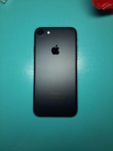 apple iphone 4 32gb в Кыргызстан: Б/У iPhone 7 32 ГБ Черный
