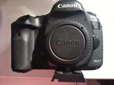 зеркальный фотоаппарат canon eos 70d body в Азербайджан: Canon EOS 5D Mark III Body ela veziyyetde hec bir problemi yoxdu.Video