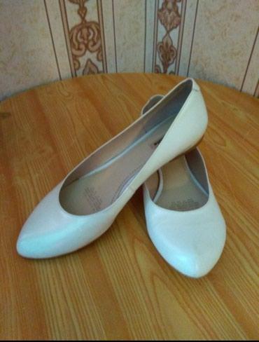 Кожаные туфли от фирмы Маскотт, качество отличное,37 размер. в Бишкек