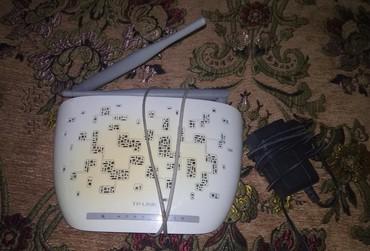 wifi роутер tp link wr740n в Кыргызстан: Роутер TP-LINK Торг уместен! Работает. Сигнал хороший