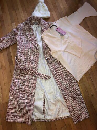 10102 oglasa | ŽENSKA ODEĆA: H&M kaput M veličina NOV sa etiketom, plaćen 60€Džemper takodje