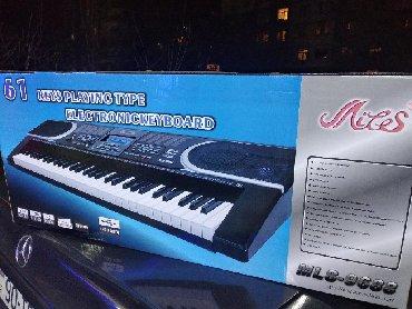 Elektron pianino - Azərbaycan: Pianino elektron sintezator 5 oktava həcmində fləş kartliOrginal