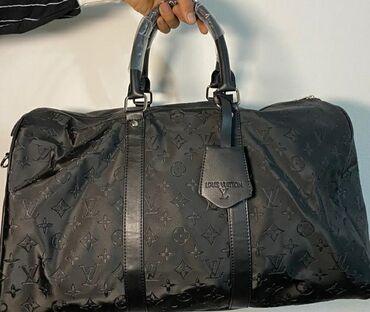 Дорожная +тренировочная сумка Louis Vuitton с . бесплатная доставка