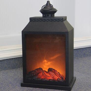 фонтан продажа в Кыргызстан: Электрический камин Led Fireplace Lantern  Хит продаж 🥰  Даёт свет и