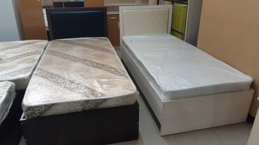 железная качеля в Кыргызстан: Односпальные кровати с матрасом 1900×800мм. Каркас железный, кромки