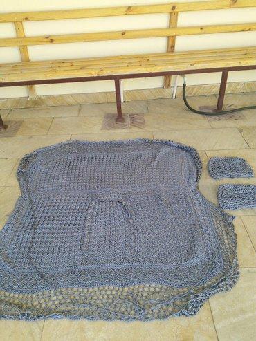 чехлы на авто в Азербайджан: Чихлы вязанные маздо-сх9б/у в отличном состоянии на заднее сиденье