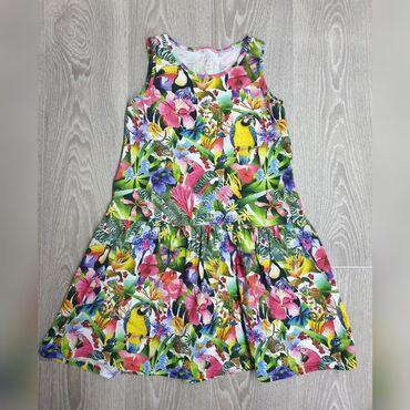 Фирменное платье H&М на 7-9 лет в отличном состоянии. Натуральная