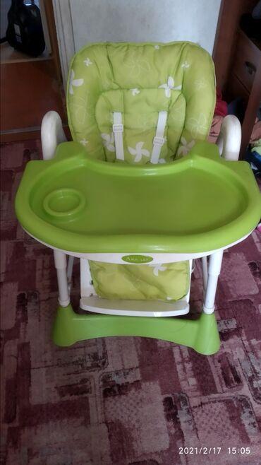 Детское кресло. 3 положения спинки и 5 положений высоты стульчика