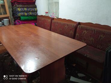 188 объявлений: Кухонный уголок стол 2 метра на 10-12 персон нужна чистка в