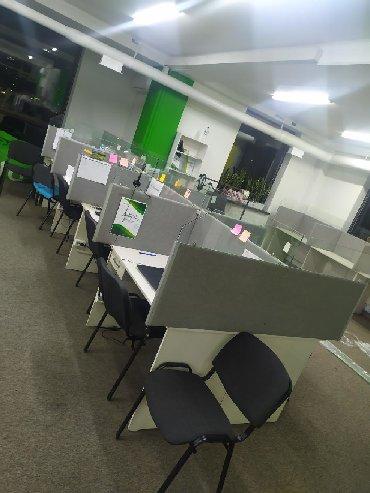 купить контейнер офис в Кыргызстан: Столы для офиса, Профессиональные столы для колл центра, перегородки