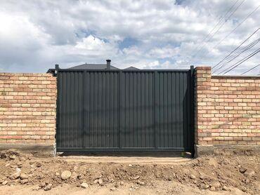 профессиональный микшерный пульт в Кыргызстан: Ворота | Распашные, Откатные, Секционные | Металлические