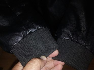 Izuzetna kozna jakna za decake 13-14godina,kupljena u Waikiki-ali je - Krusevac
