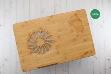 Підставка для ноутбука та телефону з вентилятором UFT   Розмір: 47х74
