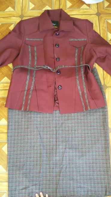 Женский костюм из турции - Кыргызстан: Женский костюм отличного качества, размер 54, новый костюм, Турция