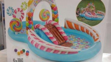Бассейны - Азербайджан: Басейн интекс детский игровой центр  размер; 2.95×1.91×1.30см