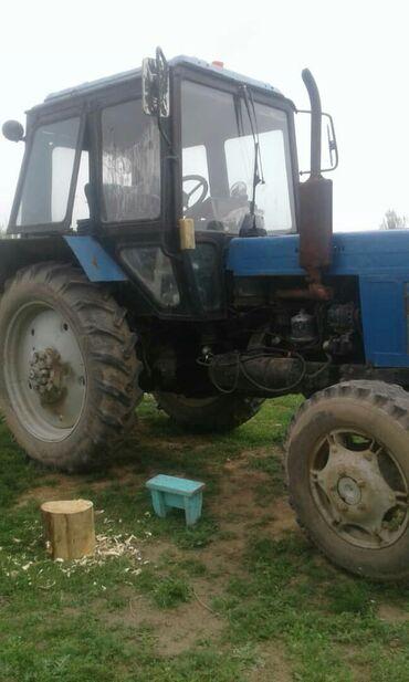 Продсётся трактор МТЗ-82 с плугом