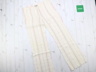 Женские легкие брюки в полоску Naf Naf, р. S Длина штанины: 97,5 см Ша