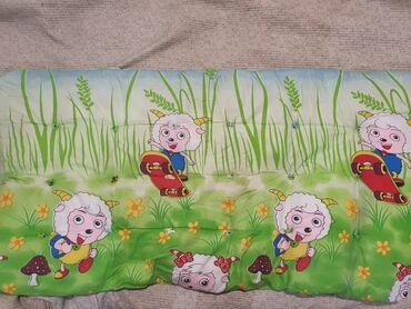 Продается детский ватный матрас. Размер 120 ×65 см. Состояние отличное