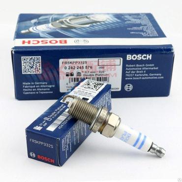Свеча зажигания фирмы Bosch. 8 шт. Б/у. в Бишкек