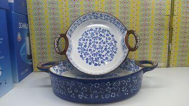 beko soba - Azərbaycan: Keramik soba qabları dəsti. 300⁰-dək istiyə davamlıdır. Ölçülər:Kiçik