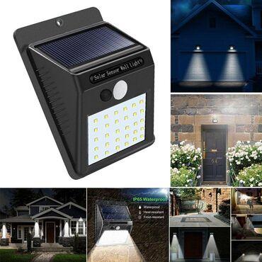 Kuća i bašta - Sombor: Solarna bastenska led lampa sa senzoromVrlo brzo i lako