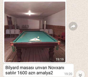 billiard - Azərbaycan: Bilyard masaları