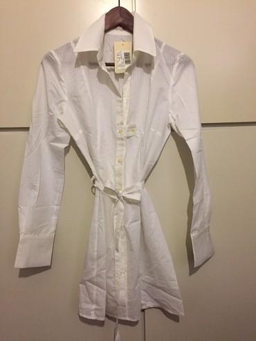 Λευκό βαμβακερό πουκάμισο /μίνι σε Rest of Attica