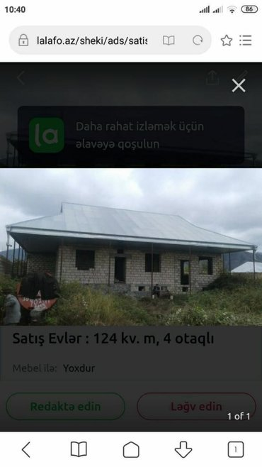 Satış Evlər mülkiyyətçidən: 150 kv. m, 4 otaqlı