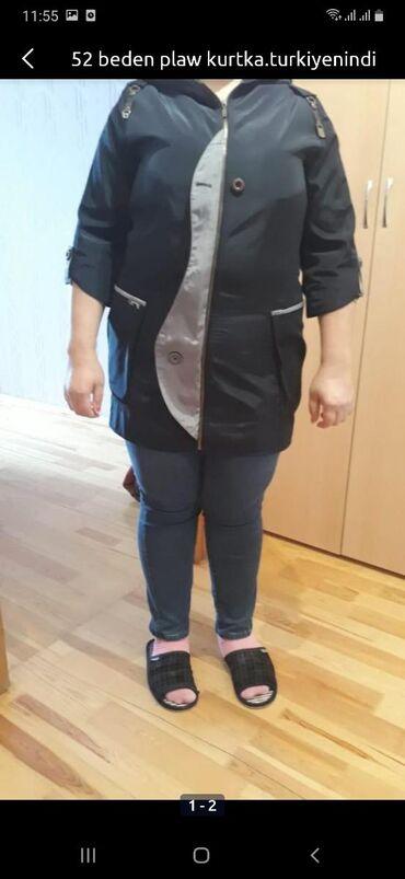 женская-новая-куртка в Азербайджан: Nazik plaw kurtka. Turkiyenindi.deble heyinen xanimlar buyurub cata