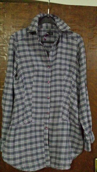 Jakna-luciano-placena-ustrucena-obukla-sa - Srbija: Markirana ženska košulja, nova, ustrucena s veličina