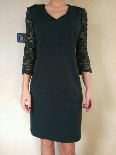 Kvalitetna zelena haljina, xl - Crvenka